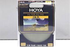 Hoya 82mm circular polarising filter - slim frame *UK Seller*