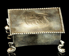 Antique Bigelow Kennard & Co. Sterling Silver Jewelry Box