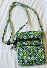 Vera Bradley Mini Hipster Daisy Daisy Crossbody Bag Purse Blue Green White NICE