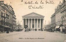 R214733 Paris. La Rue Royale et la Madeleine