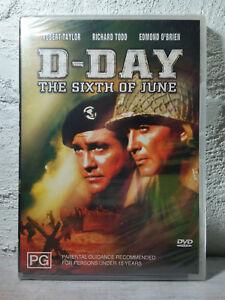 D-Day - The Sixth Of June DVD - Reg 4 Aust - ROBERT TAYLOR_RICHARD TODD