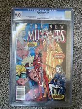 New Mutants #98 CGC 9.0 1st Deadpool, Gideon, Copycat. White Pages, Unpressed