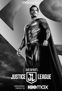Zach Snyder's Justice League Movie Poster (24x36) - Henry Cavill, Superman v7