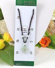 Markenlose Echte Edelstein-Halsketten & -Anhänger mit Jade für Unisex