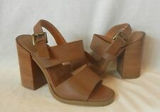 UO Urban Outfitters Women's Faux Leather Heeled Sandals Size 7
