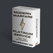 PLATINUM UNLOCKED - Choose TWO Categories COD Mw Modern Warfare