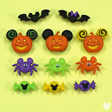 Disney Mickey & Minnie Halloween 7922 Dress It Up Buttons - Witches Ghosts
