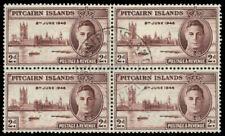 "PITCAIRN ISLAND 9 (SG9) -  King George VI ""Peace-Victory"" (pa81508)"
