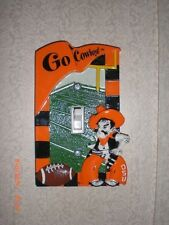 College Football NCAA Oklahoma State Cowboys Light Switch Plate Cover RESIN