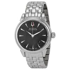 Bulova Accutron Gemini 63B147 Swiss Made Mens 26-Jewel Automatic Watch $995 NEW