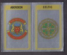 PANINI-CALCIO 80 - # 518 Aberdeen / STEMMA Celtico
