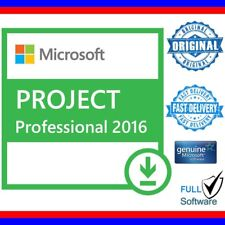 MSFT Project Professional 2016 32/64-Bit Digital License Lifetime Key + 5 Users