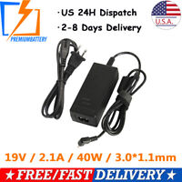 For Acer Chromebook CB3-111 CB3-131 CB5-132T Ac Adapter Charger & Power Cord USA
