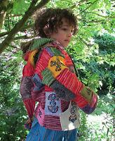 Wool Pixie Winter Jacket Festival Hoody Coat Girls Boys Children's/Kids 7,8,9