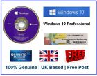 Genuine Microsoft Windows 10 Pro Professional 64Bit License COA & DVD