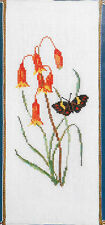 Christmas Bells Flowers & Butterfly -Danico Australiana counted cross-stitch kit