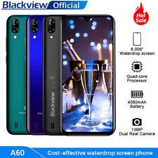 Blackview A60 Smartphone débloqué 6.1 Pouces 4080mAh Double SIM 16Go (SD 128Go)
