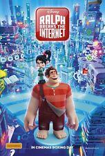 Ralph Breaks The Internet: Wreck-It Ralph 2 Movie Poster (24x36)- John Reilly v3