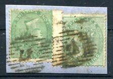 GB 1856 15BR BREITRAND per 2 BRIEFSTÜCK TETE BECHE geklebt 400€+(Z0151