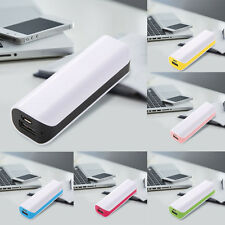 USB Portable External Backup Battery Charger Power Bank Case for iPhone Samsung