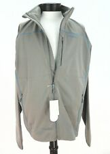 NWT $168 MERRELL Mens JACKET Conservation Softshell Beige/Blue WICK/WIND XL ***