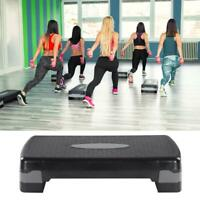 "Aerobic Stepper 27"" Cardio Platform Fitness Step 4″- 6″ Workout Exercise Risers"