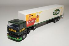 1:50 LION CAR DAF 75 OR 85 TRUCK WITH TRAILER SLIGRO GOOD CONDITION REPAINT