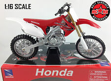 Honda CRF 450 - 1:6 Die-Cast Motocross Mx Motorbike Big Toy Model Bike New Ray