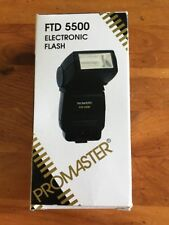 Promaster FTD 5500 Shoe Mount Flash - Excellent Condition
