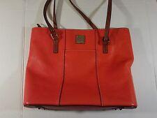 Dooney & Bourke Leather Satchel Bag Purse Handbag zippered EUC