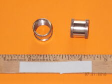 """Tobacco Pipes, parts & accessories - (1) Large chamber - nickle - 5/8"""""""