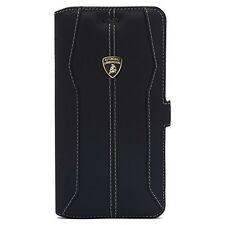 Lamborghini Huracan Cuir iPhone 7 Housse de protection Book Case Cover Noir