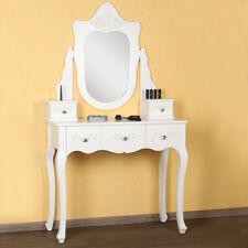 Kosmetiktisch Weiß Schminktisch Frisierkommode Friesiertisch Spiegeltisch 👩