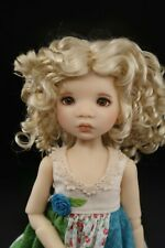 Monique Rebecca Wig Champagne Size 6-7 YoSd Bjd shown on My Meadow Avery