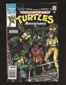 Teenage Mutant Ninja Turtles Adventures # 1 Newsstand cover VF/NM Cond.