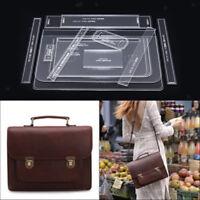13pcs modello di stencil acrilico modello borsa tracolla artigianale in