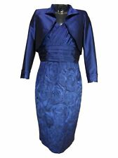 Blue Colour Mother of the Bride Suit Jacket Clothing
