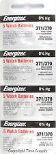 20 pcs 370 371 Energizer Watch Batteries SR920W SR920SW 0%HG