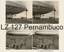 31 Stereofotos Graf Zeppelin LZ 127 in Pernambuco Südamerika Brasilien Recife