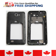 Samsung Galaxy Note N7000 Black Middle Housing Frame with Camera Lens