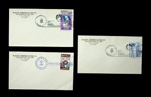 GUATEMALA 1971 3v FLAG INDEPENDENCE/ YOUTH OLYMPICS/ 25TH A UNICEF USED ON 3 FDC