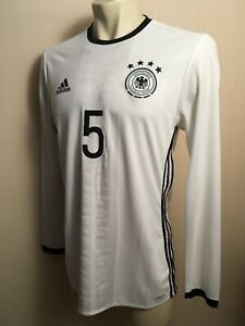 GERMANY HOME 2016/2017 PLAYER ISSUE FOOTBALL SHIRT JERSEY TRIKOT ADIDAS AA0136