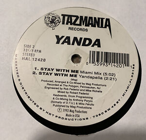 YANDA Stay With Me, RARE FREESTYLE, VG, plays strong