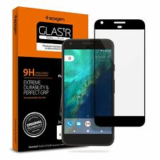 For Google Pixel Screen Protector Black Oleophobic Tempered Glass Full Coverage