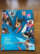 Olympics London 2012 Empty Sticker Album