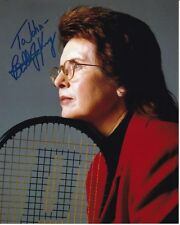 BILLIE JEAN KING Autographed Signed TENNIS Photograph - To John