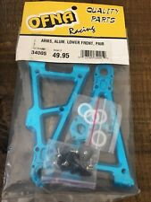 Vintage 1/8 Ofna Ultra Buggy Front Lower Aluminum  Arms Nos 34005