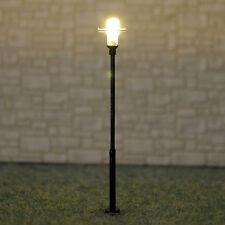 5 x OO HO gauge Model Train Lamps Railway Lamp posts Led Street Lights #Y0105