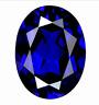 Blue Zircon 2.48ct 8x10mm Oval Cut AAAAA VVS Loose Gemstone