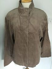 BHS Ladies Taupe Cord Lined Coat / Jacket Size 18. BNWT RRP £45.